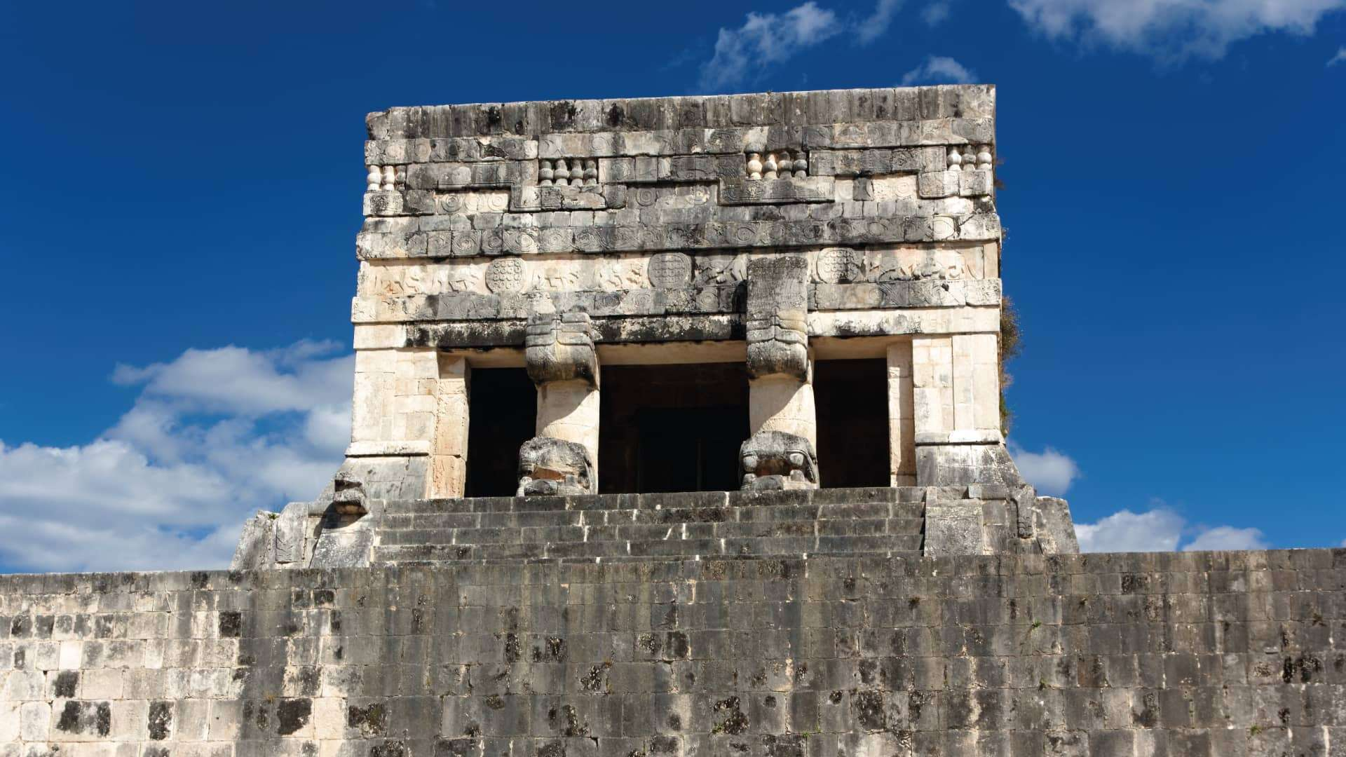Temple of the Jaguars in Chichen Itza