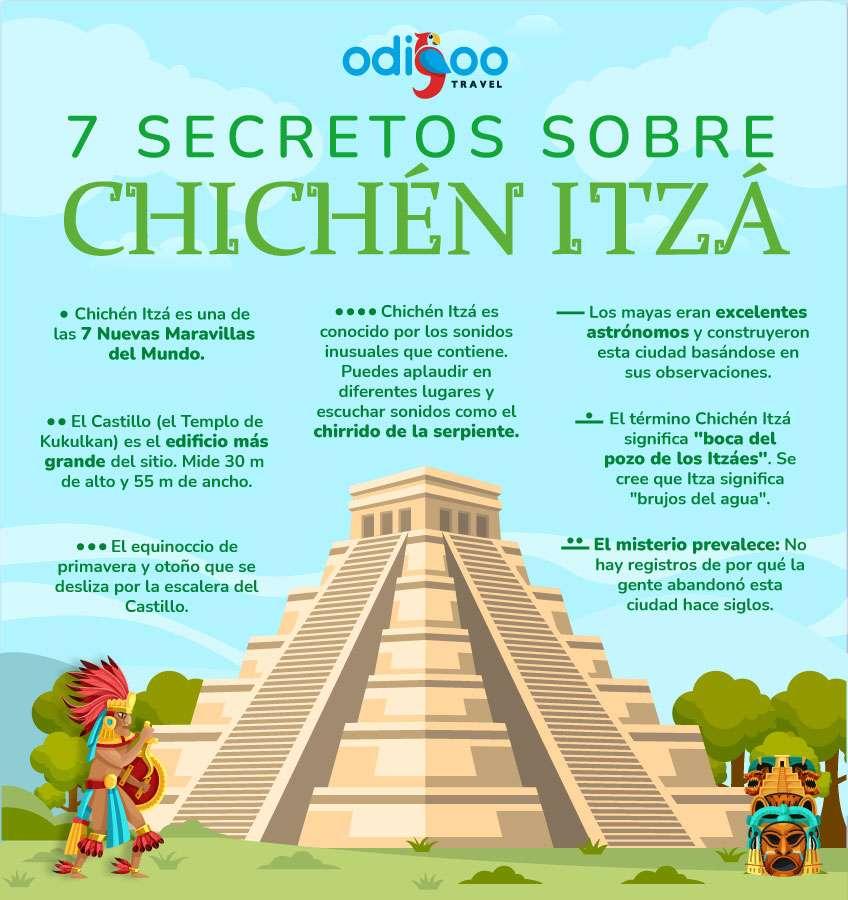 7 secretos sobre Chichén Itzá